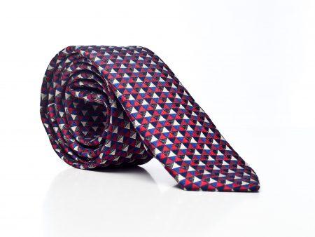 Krawat w azteckie wzory