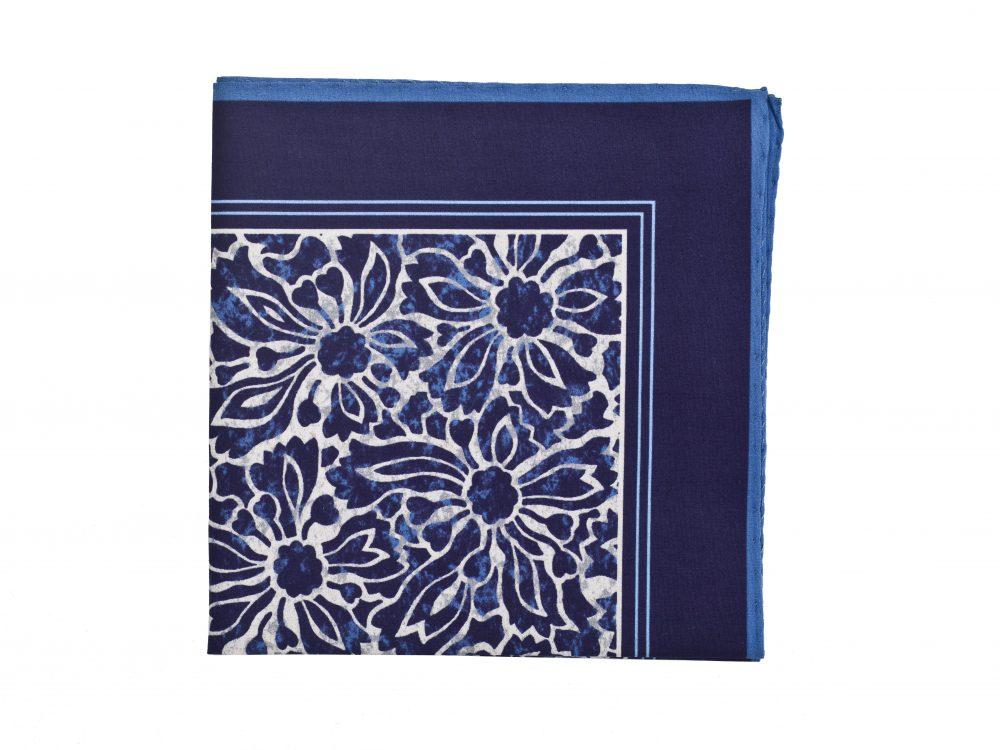Poszetka Blue Floral