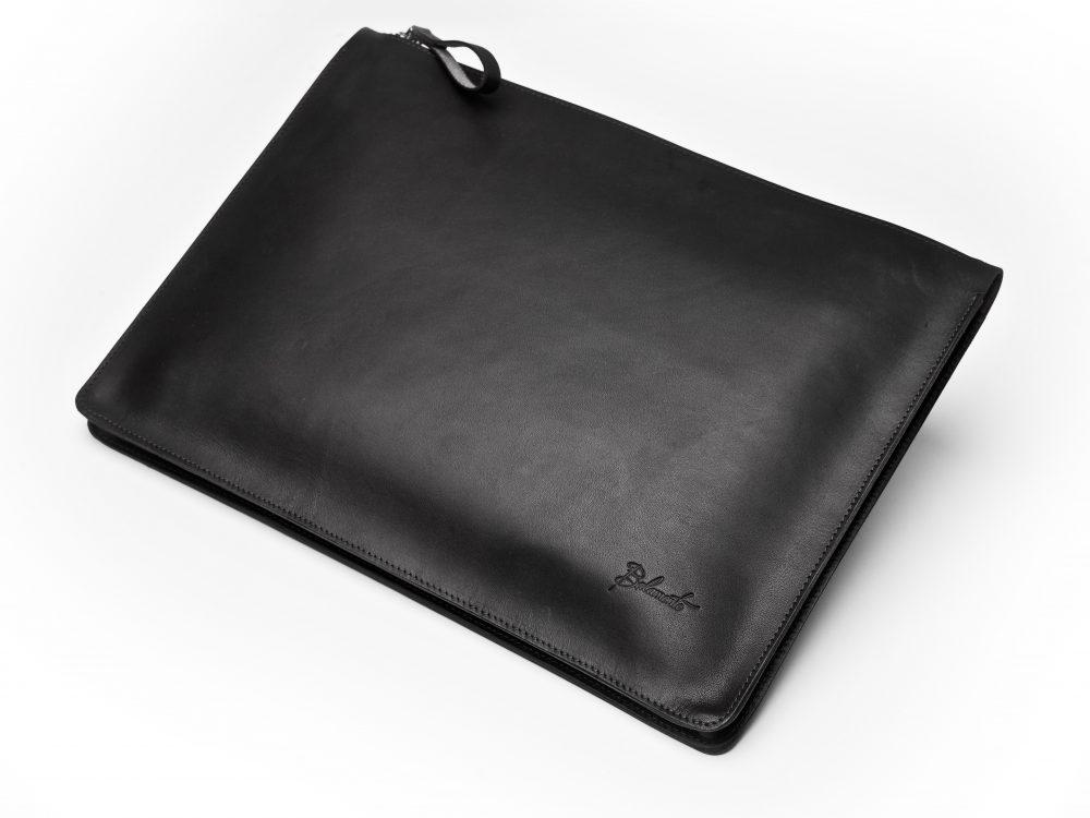 Torba na laptopa – ciemny brąz