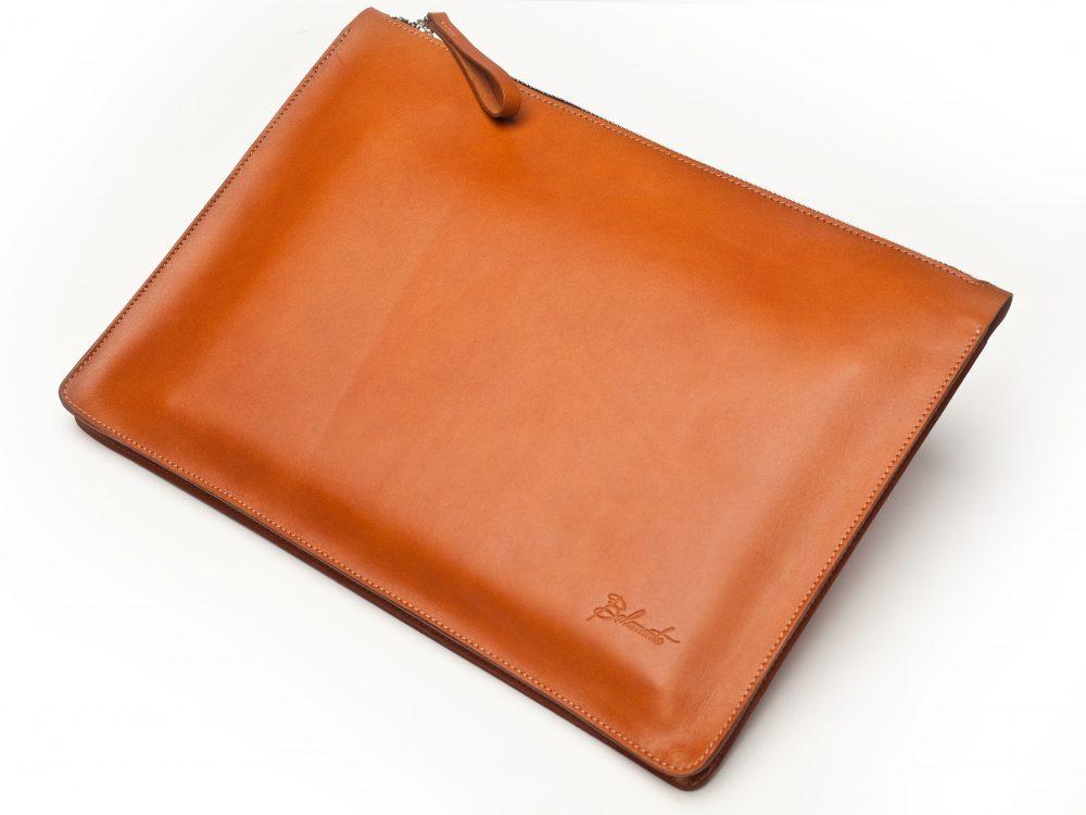 Torba na laptopa – rudy brąz