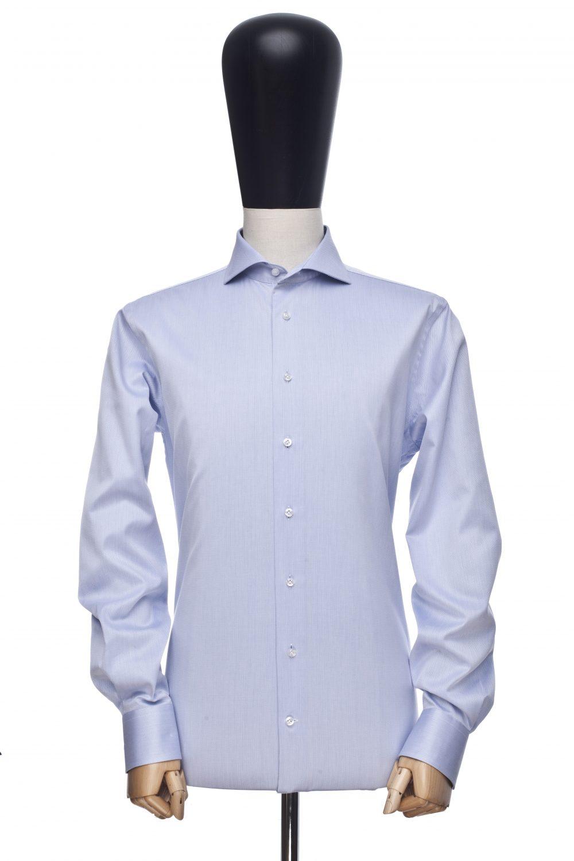 Koszula błękitna diagonal