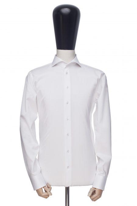 Koszula biała diagonal