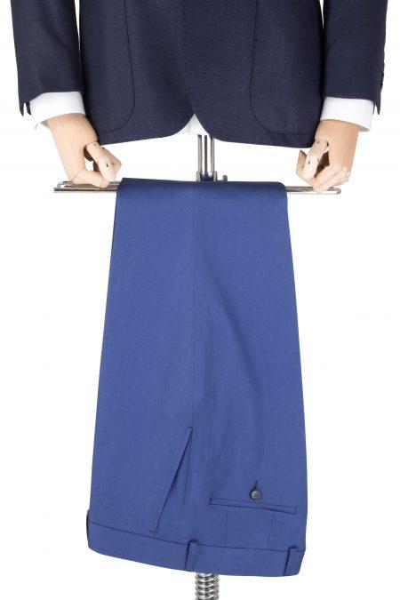 Spodnie wełniane niebieskie