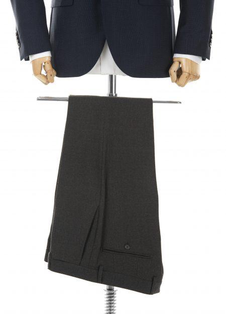 Spodnie wełniane brązowe