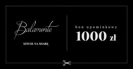 BON UPOMINKOWY 1000