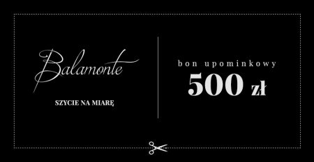 BON UPOMINKOWY 500