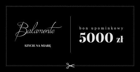 BON UPOMINKOWY 5000