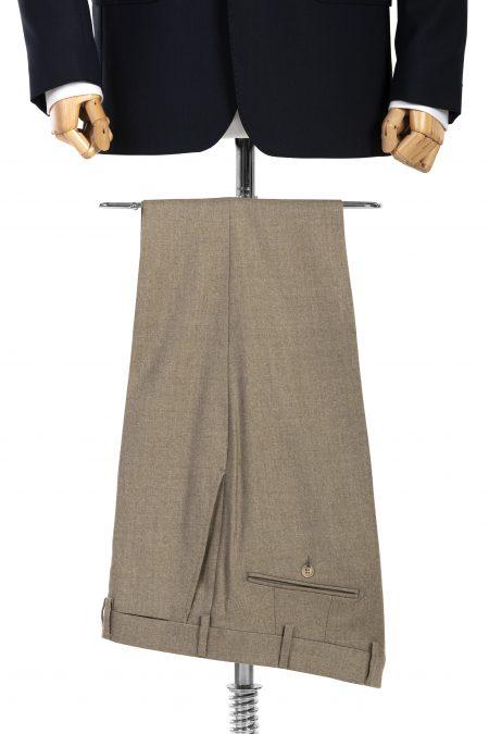 Spodnie wełniane beżowe
